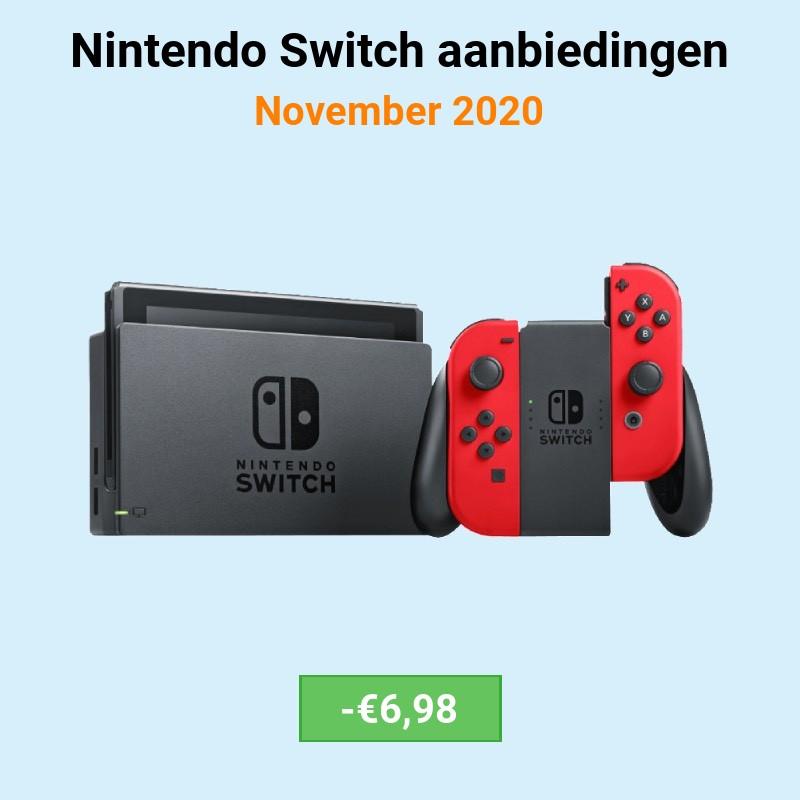 nintendo-switch aanbiedingen