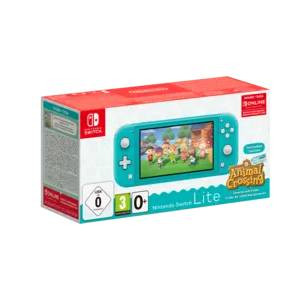 Goedkoopste Nintendo Switch Lite + Animal Crossing (Turquoise)
