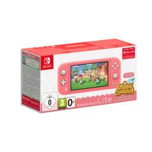 Goedkoopste Nintendo Switch Lite + Animal Crossing (Roze)