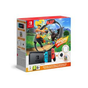 Goedkoopste Nintendo Switch + Ring Fit Adventure bundel